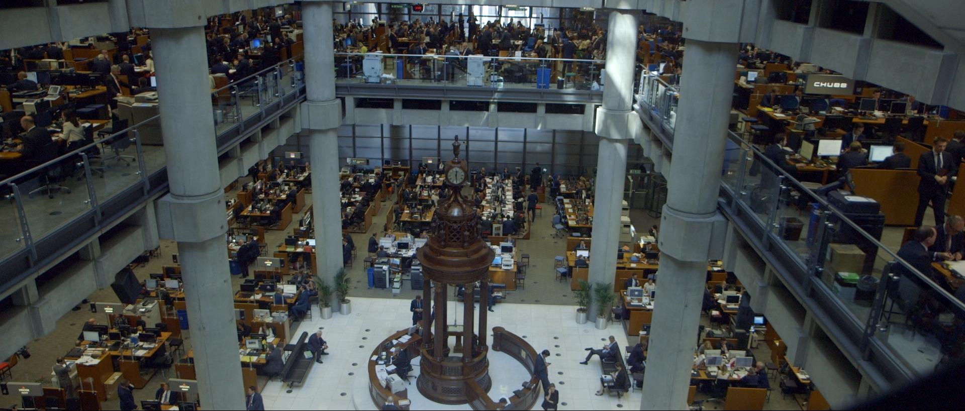 LA RANçON 09 - Lloyd's, Londres, haut lieu de courtage des compagnies d'assurance -(c) Little Big Story